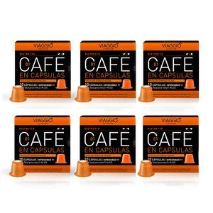 Cápsulas de Café Ristretto pack x 60 Unidades