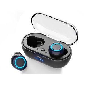 Auriculares Inalámbricos Bluetooth TWS Panacom BL-1350TWS Negro