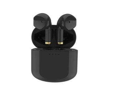Auricular Inalámbrico Bluetooth Prime Audio Negro y Dorado