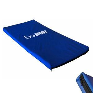 Colchoneta Exahome Gimnasia Fitness Yoga Abdominales azul
