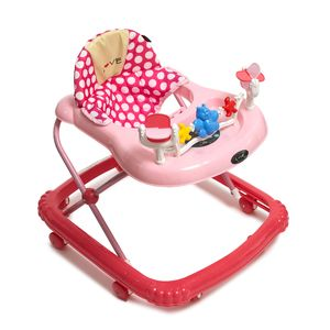 Andador Musical para Bebes con Alturas Love 726 Rosa
