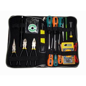 Kit de herramientas de 19 piezas ideal para tecnico electrónico Nisuta NSK3919 Multicolor