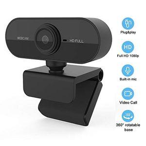 Webcam Pc Full Hd Plug And Play Usb 2.0 Con Micrófono