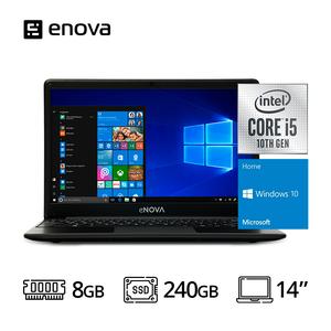 "Notebook eNova 14"" Ci5 1035G1 + RAM 8GB + SSD 240GB + Win 10 Home"
