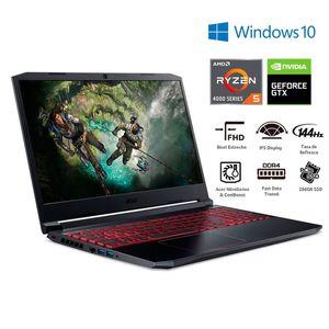 "Notebook Acer 15,6"" 8GB 256GB AMD Ryzen 5 AN515-44-R7ZF"