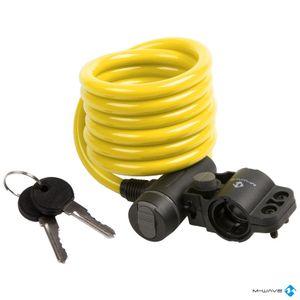 Candado Cable de 180 cm Amarillo