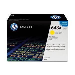 Cartucho de Toner Original HP LaserJet 643A 4700 Páginas Amarillo Q5952A