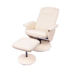 Sillón Masajeador Wolke Blake Reclinable Relax 8 Motores + Calor + Innovación + Cream Beige