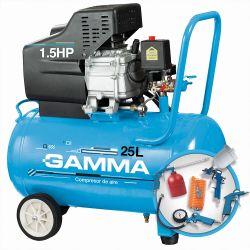 Compresor Gamma en Kit  1,5  HP / 25 L  G2852KAR