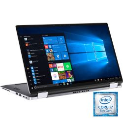 "Notebook 2 en 1 Dell 14"" Core i7-8665U 8GB 256GB SSD Latitude 7400"