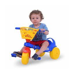 Triciclo Infantil con Canasto Zoo Jeico