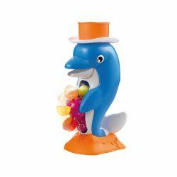 Juguete de Agua para Baño de Bebé Delfín Cascada de Agua Love 7486