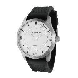 Reloj Hombre Caro Uomo malla silicona negro CU05 MSSW