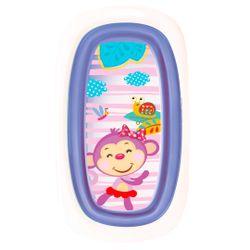 Bañera Plegable y de facil armado con tapon de desagote Baby Innovation Violeta