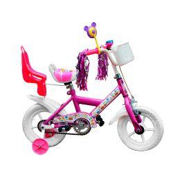 Bicicleta JVK Bikes Rodado 12 Violeta  FULL