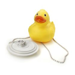 Tapon para bañera con patito flotante Baby Innovation Tapon Flotante Amarillo