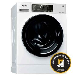 Lavarropas Carga Frontal Sense Inverter Whirlpool 8.5Kg 1400 RPM WLCF85BAAR