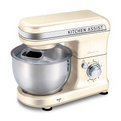 Batidora de Pie Smart Tek Kitchen Assist Bowl Acero Marfil