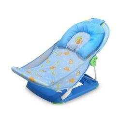 Sillita para bañar a bebes Baby Innovation Sillita Plegable de Baño Celeste