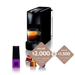 Cafetera Nespresso Essenza Mini Black