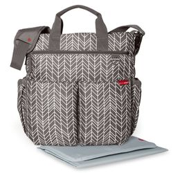 Bolso Maternal Duo Feather Gris Skip Hop 200319