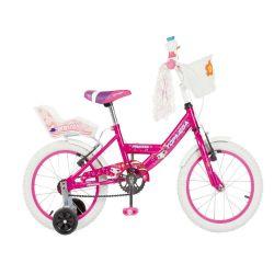 Bicicleta Niña Rodado 16 Top Mega Princess Rosa