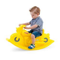 Moto Mecedora Infantil Reforzada Amarillo Jeico
