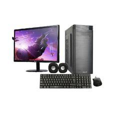"""PC de Escritorio IQual Core i3-9100 8GB RAM 1TB G9 con Monitor Led 23.6"""" Sin Sistema Operativo"""