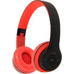 Auriculares Bluetooth Havit H2575 BT HEADPHONE Rojo y Negro