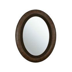 Espejo Oval de Madera 69 cm x 89 cm