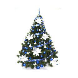 Arbol de Navidad Bariloche 1 60 Mts con Adornos Azul