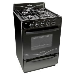 Cocina Florencia 5517F Negra 56cm