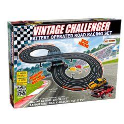 Pista de Autos Vintage Challenger