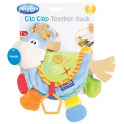 Libro Didáctico Playgro Clip Clop Teether Book
