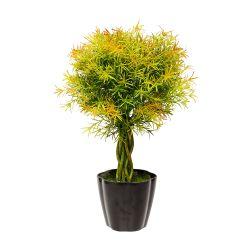 Planta Decorativa Topiario Helecho Artificial 61 cm