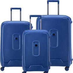 Set de 3 Valijas Delsey Moncey Azul