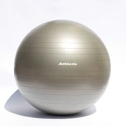 Pelota Esferodinamia Pilates Yoga Gym ball Athletic 75cm Gris