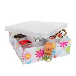 Caja con 9 divisiones 30 x 30 x 9 cm Nouvelle Cuisine PVC Diseños Surtidos 1050701