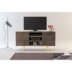 Rack para TV Ottilia 1.35 m Color Roble
