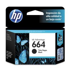 Cartucho de tinta HP 664 Negra