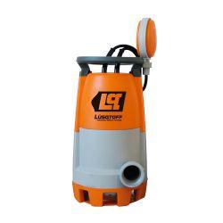 Bomba sumergible plastica LSP-400 Lusqtoff Agua limpia y sucia