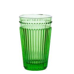 Vaso Verde de Vidrio