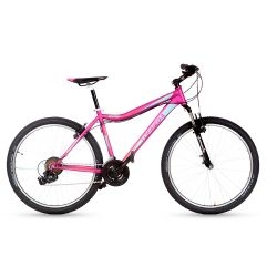 "Bicicleta Mountain Bike R 26"" TopMega Flamingo 21 Vel Violeta"