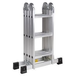 Escalera Articulada de aluminio de 12 escalones