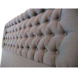Respaldo para Cama 2 Plazas Pana 150 x 120 gris