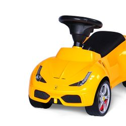 Andador Pata Pata Ferrari Rastar 83500 Amarillo