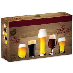 Vasos Para Cerveza - Kit Cervecero 5 Piezas Nadir Pinta Chopp
