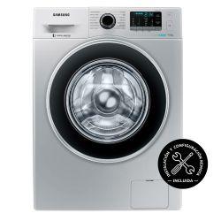 Lavarropas Carga Frontal Inverter Samsung 9 Kg 1400 RPM WW90J5410GS Plateado