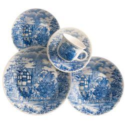 Juego de Vajilla 30 Piezas Biona by Oxford Ceramica CENA INGLESA 1125418