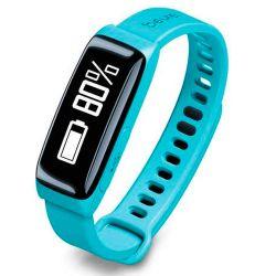 Reloj Beurer As81 Sensor de Actividad y Sueño c/Bluetooth Turquesa
